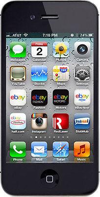 Apple iPhone 4s - 16GB - Black (AT&T) Smartphone (MC922LL/A)