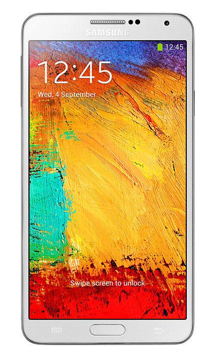 Samsung Galaxy Note III SM-N900V - 32GB - White (Verizon) Smartphone