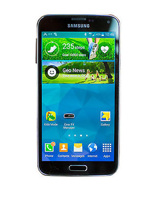 Samsung Galaxy S5 SM-G900A - 32GB - Charcoal Black (AT&T) Smartphone