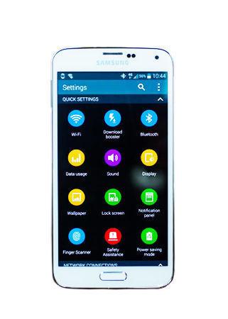 Samsung Galaxy S5 SM-G900P - 16GB - Shimmery White (Sprint) Smartphone