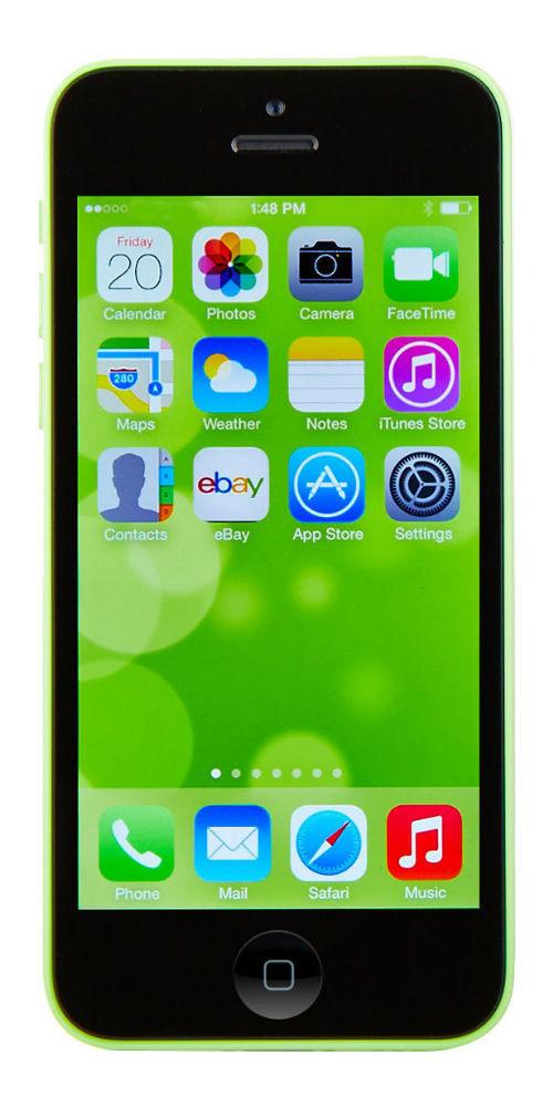 Apple iPhone 5c - 8GB - Green (Unlocked) Smartphone