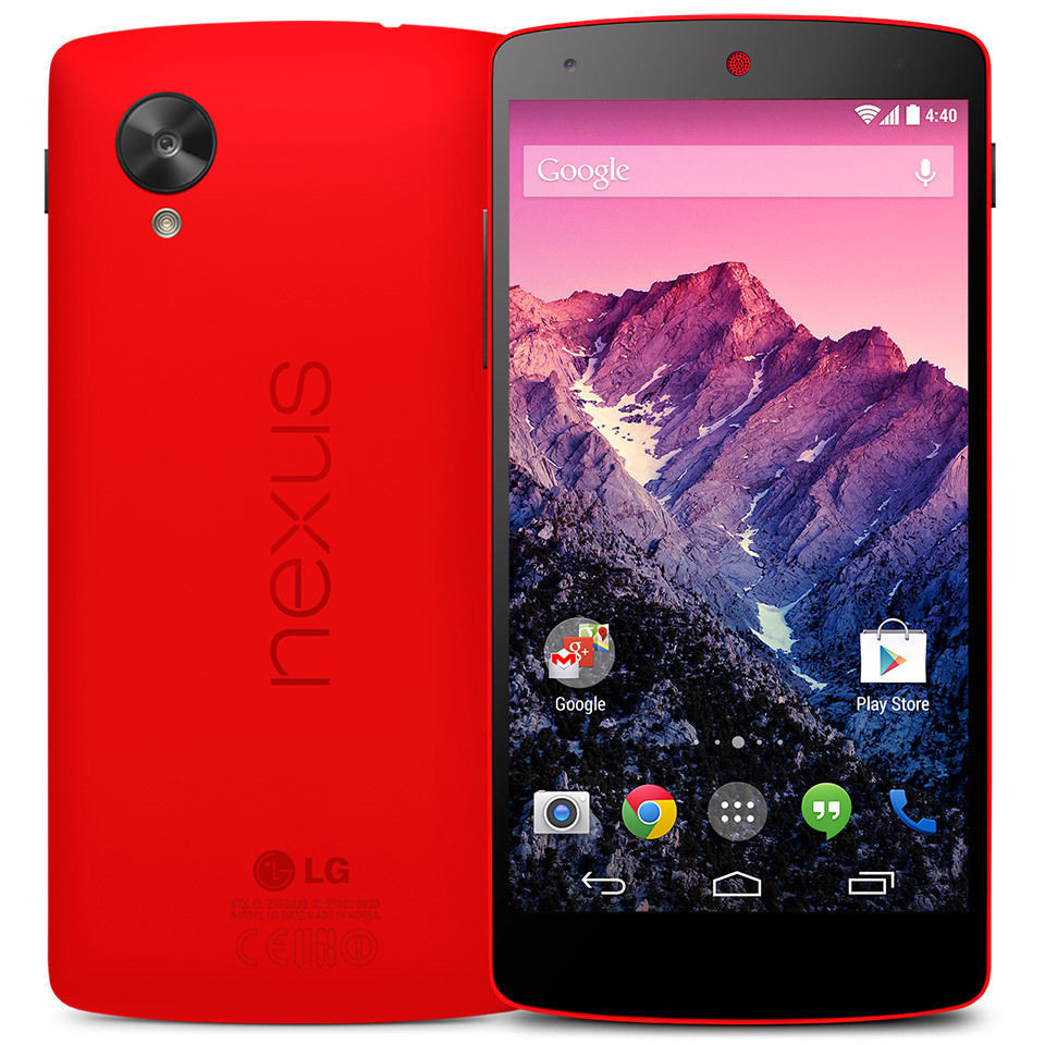 Nexus 5 D820 - 16GB - Red (Unlocked) Smartphone