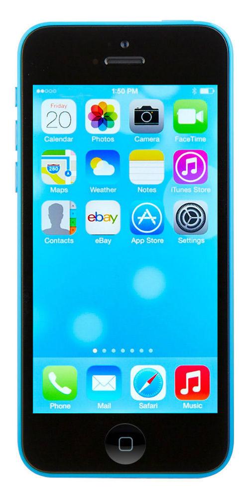 Apple iPhone 5c - 8GB - Blue (Unlocked) Smartphone