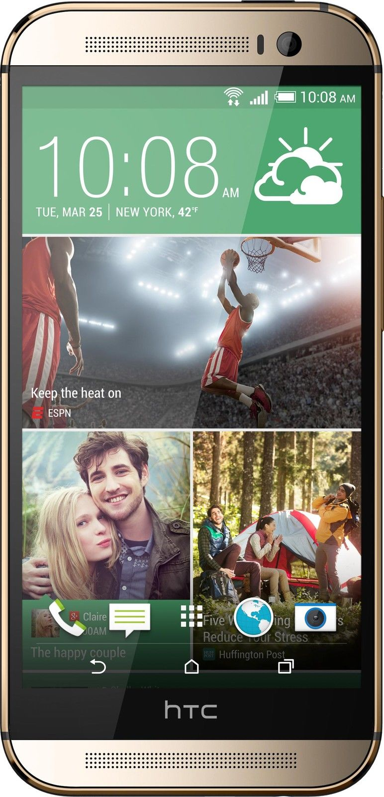 HTC One M8 - 32GB - Amber Gold (AT&T) Smartphone
