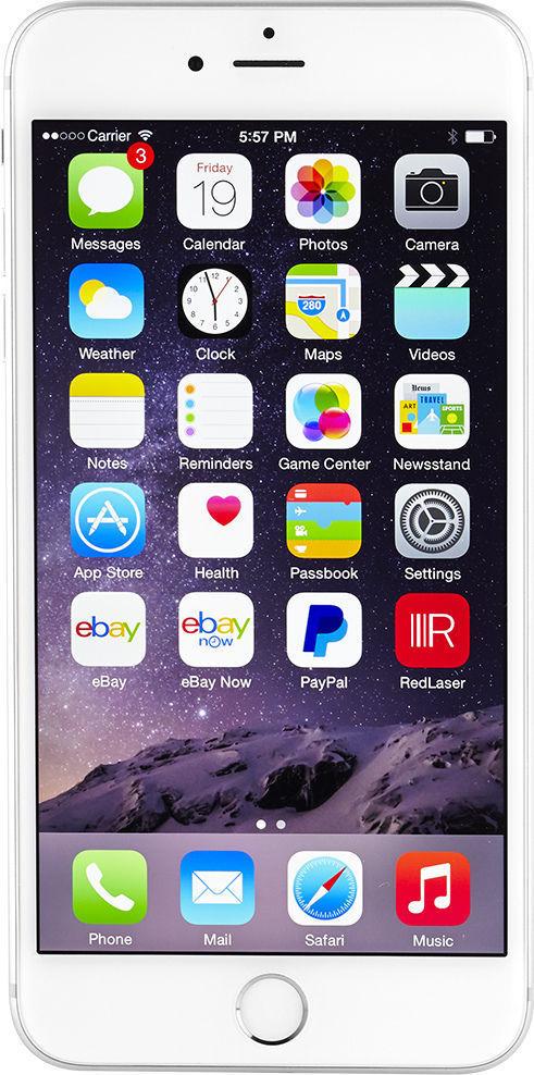 Apple iPhone 6 Plus - 16GB - Silver (Verizon) Smartphone