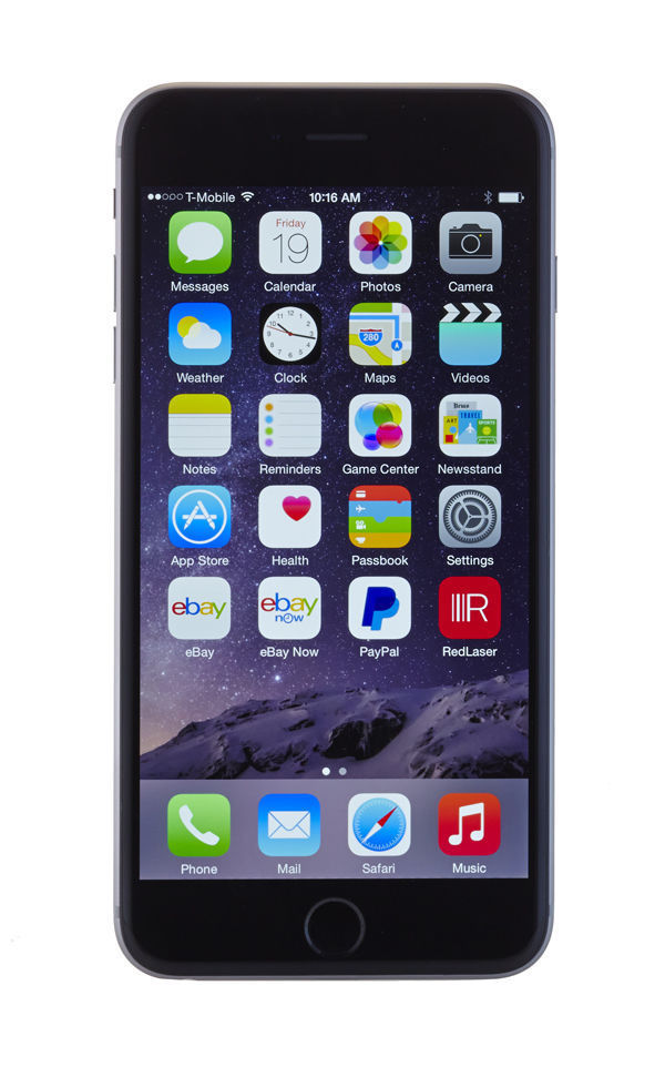 Apple iPhone 6 Plus - 16GB - Space Gray (AT&T) Smartphone