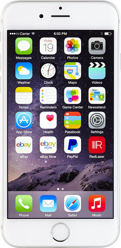 Apple iPhone 6 - 64GB - Silver (AT&T) Smartphone