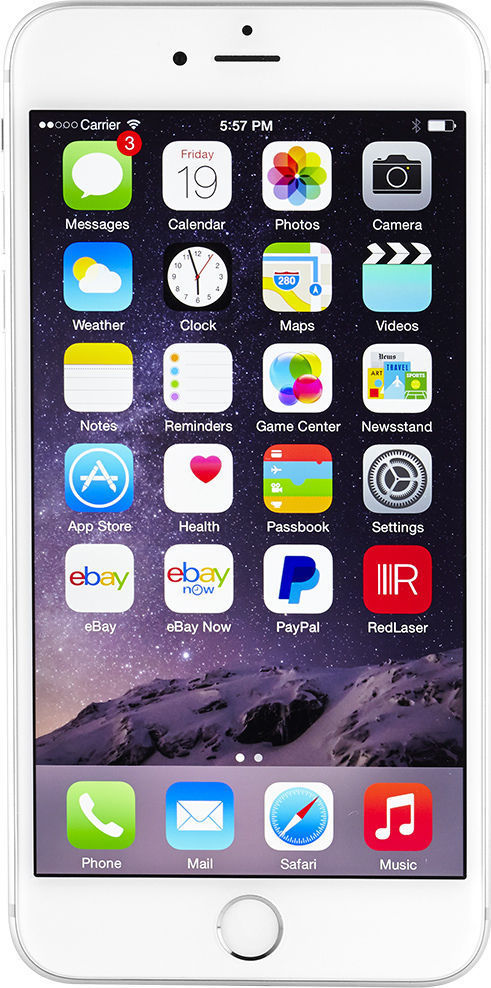 Apple iPhone 6 Plus - 128GB - Silver (AT&T) Smartphone