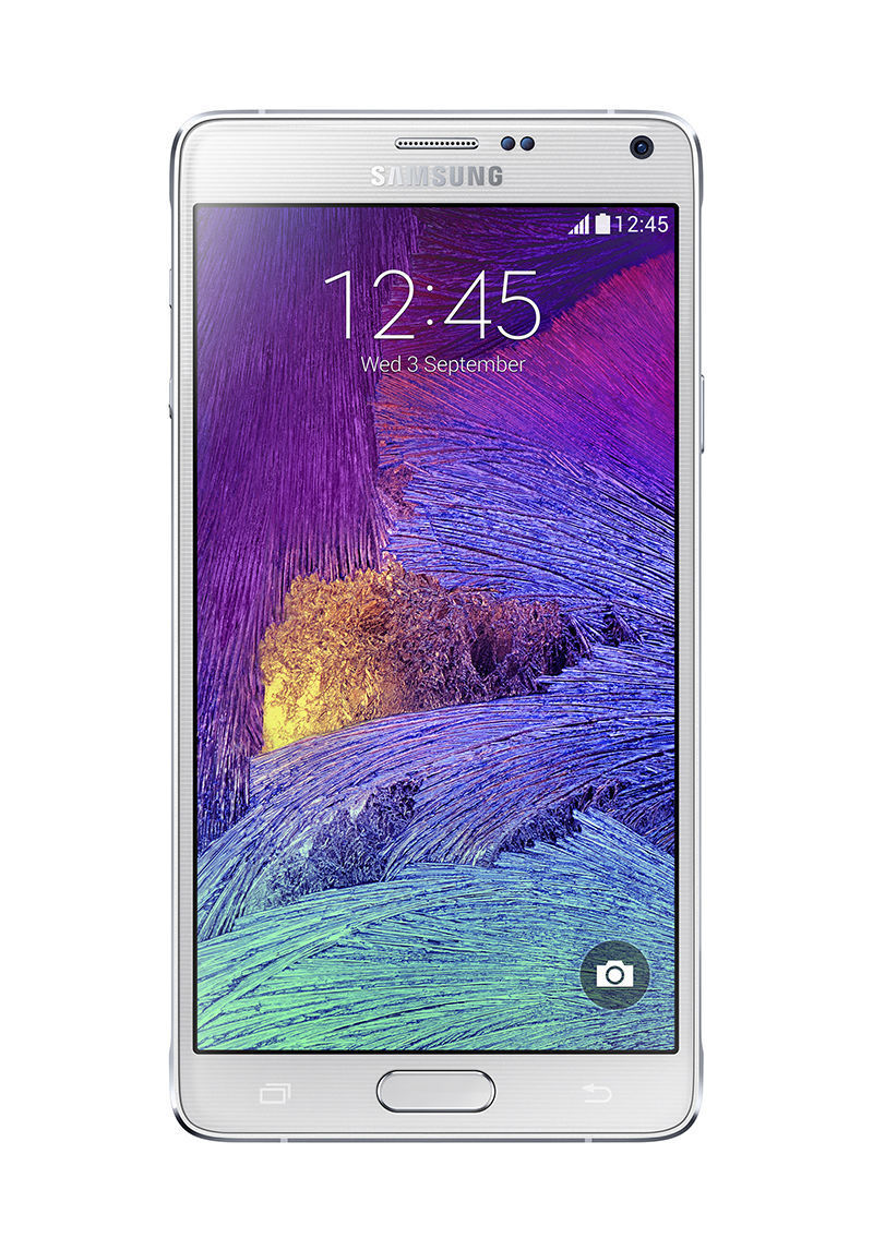 Samsung Galaxy Note 4 SM-N910A - 32GB - Frost White (AT&T) Smartphone