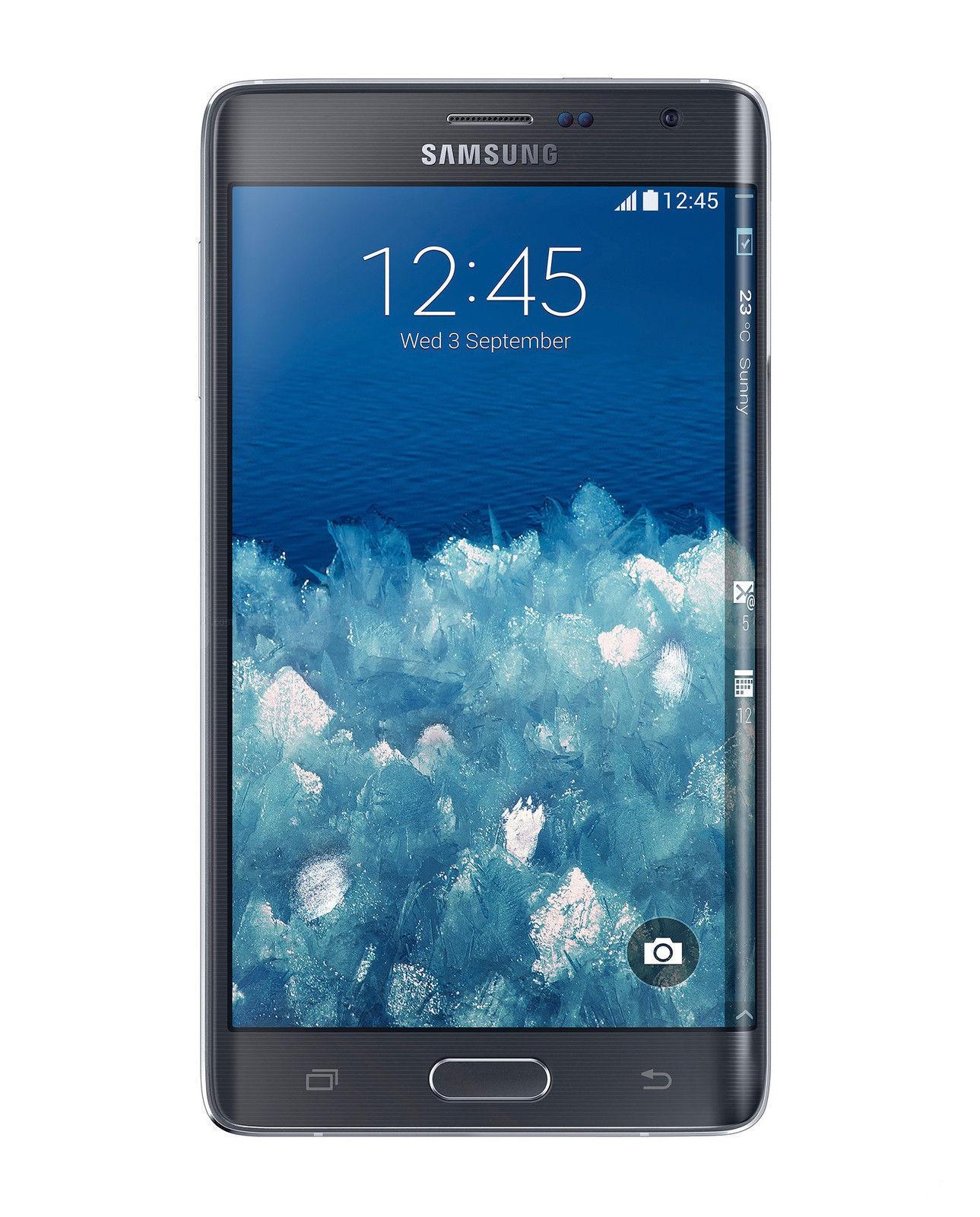 Samsung Galaxy Note Edge SM-N915T - 32GB - Charcoal Black (T-Mobile) Smartphone