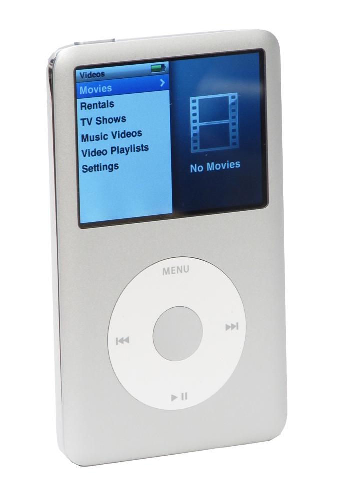 Apple iPod classic 6th Generation Silver Silver (160 GB)
