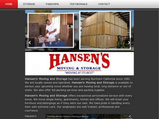Hansen's Moving and Storage - Redding, CA