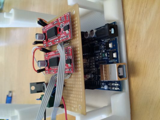 Mini arduino laser engraver redpah