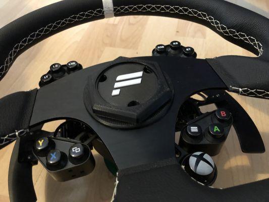 Fanatec Universal Hub Quick Release Wheel Boss   Redpah