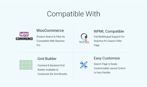 plugin  Download Reactive Search Pro – Advanced WordPress Search Filter Map & Grid nulled compatiblity