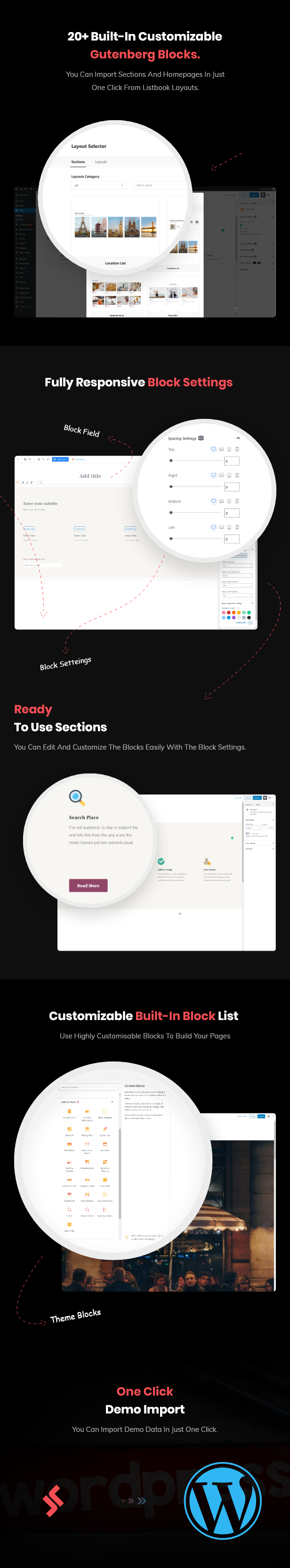 listbook directory listing theme