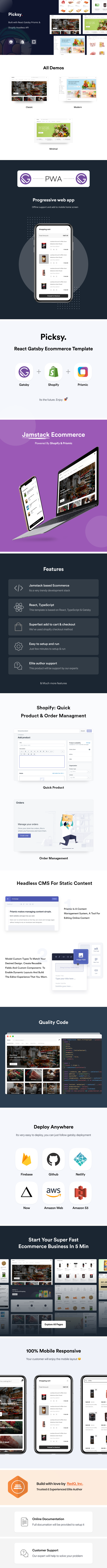 react ecommerce template