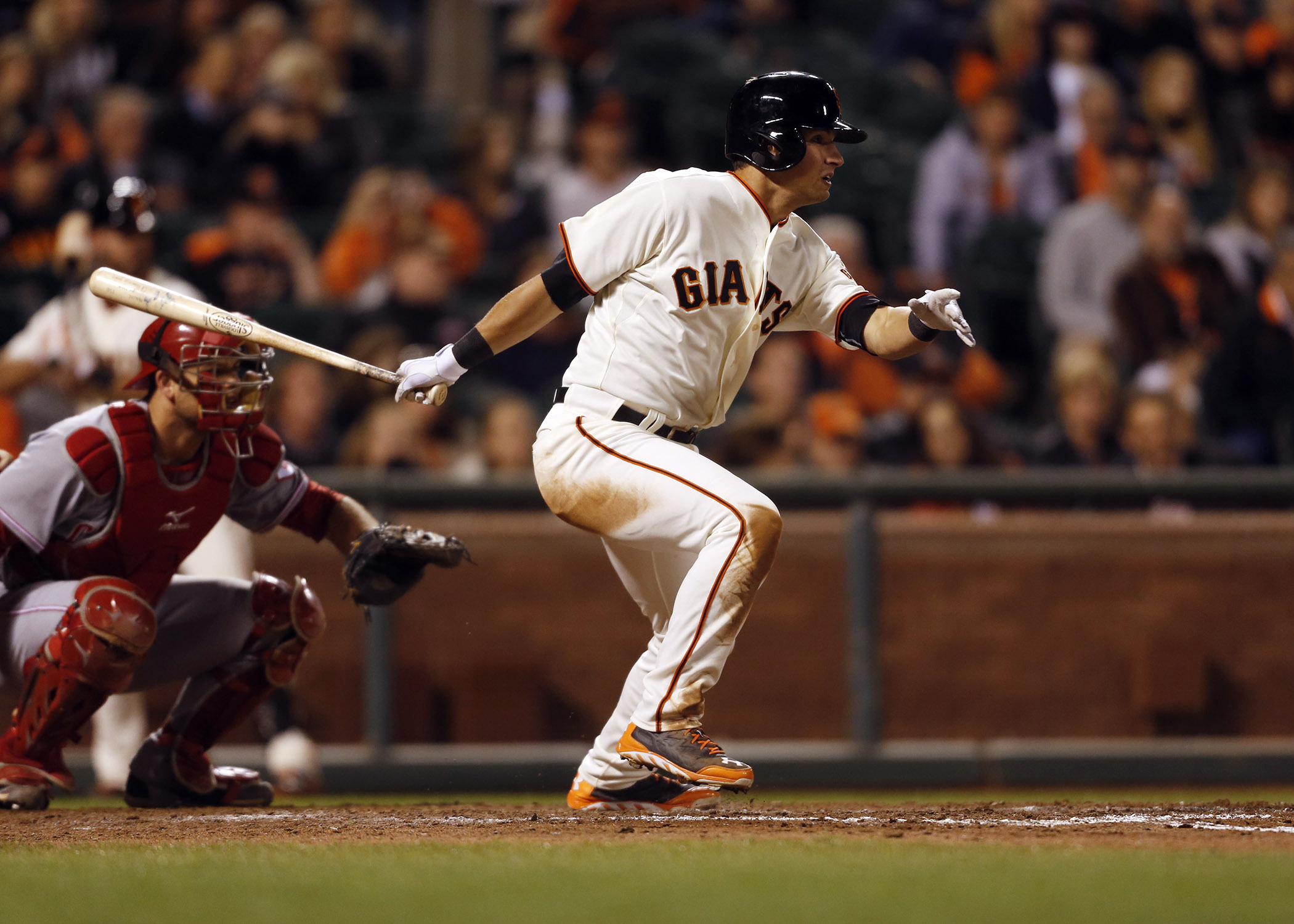 Joe Panik finished with 17 hits in the postseason, tied for fifth-most all-time among MLB rookies.