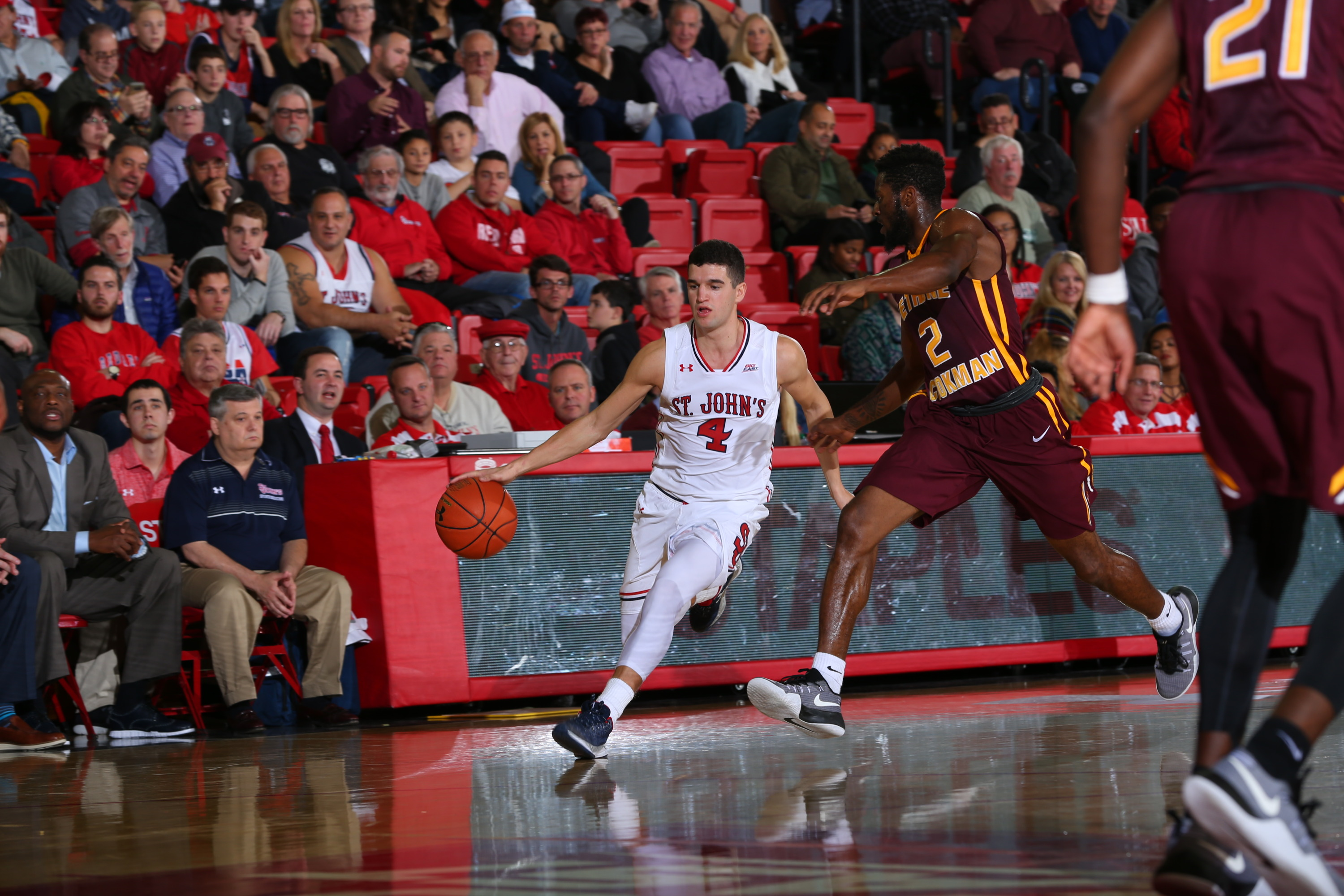 Federico Mussini scored a game-high 20 points against Bethune-Cookman