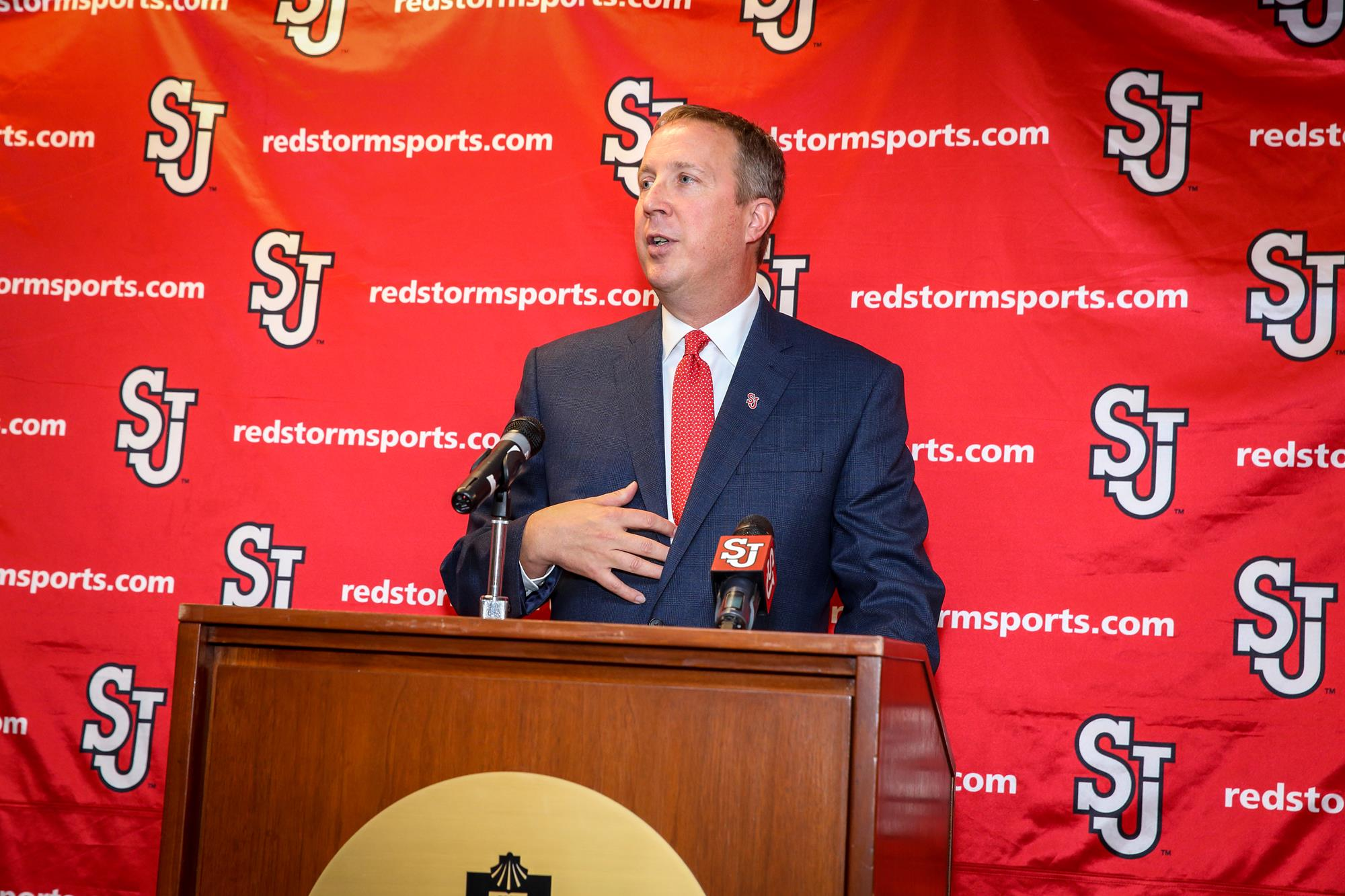 Mike Cragg Introductory Press Conference