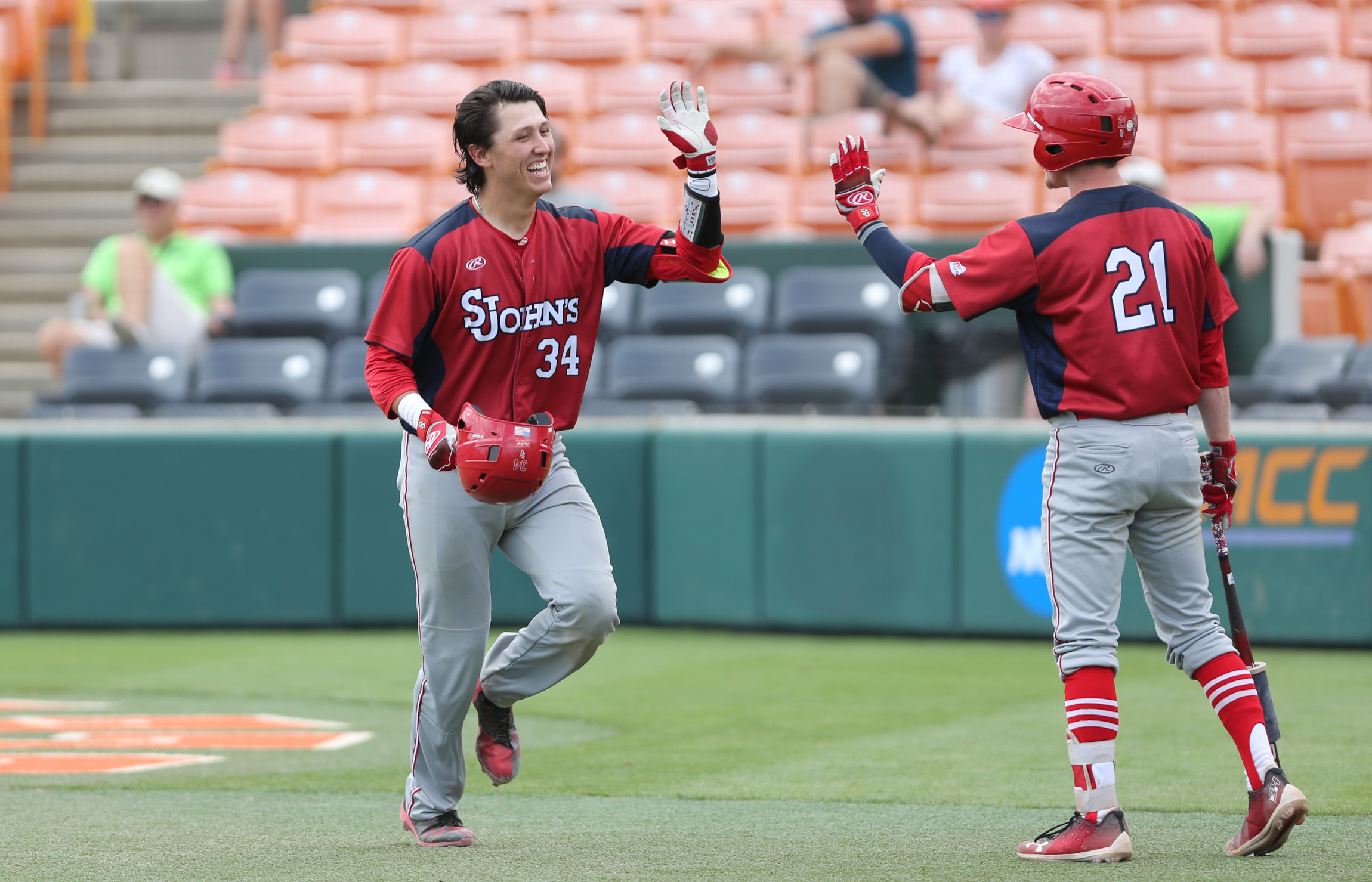 st. john's to host maryland for a saturday doubleheader - st. john's