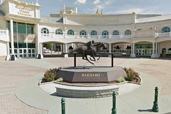 Waterblasting — Churchill Downs Exterior in Louisville, KY