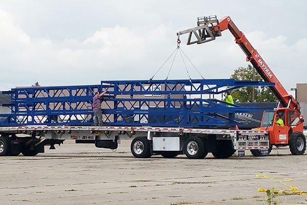 Industrial Floor Coating — Industrial Truck in Louisville, KY