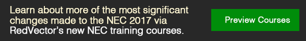 RedVector's new NEC training courses