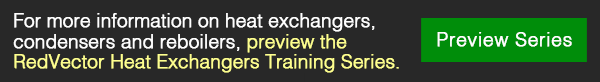 RedVector Heat Exchangers Training Series