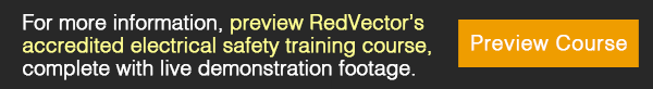 RedVector's accredited electrical safety training course