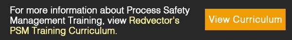 Redvector's PSM Training Curriculum.