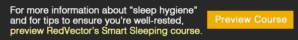 RedVector's Smart Sleeping course