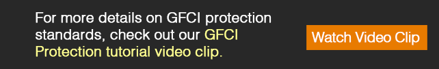 GFCI protection standards