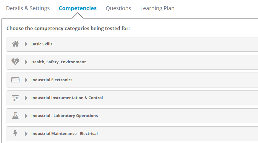Journey Learning Management Solution - Assess Competency