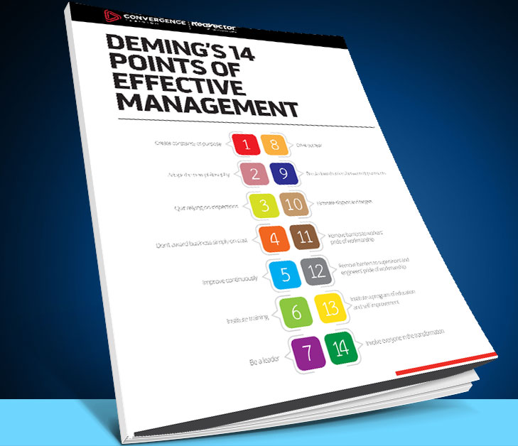 Deming's 14 Points of Effective Management (Quality) Guide