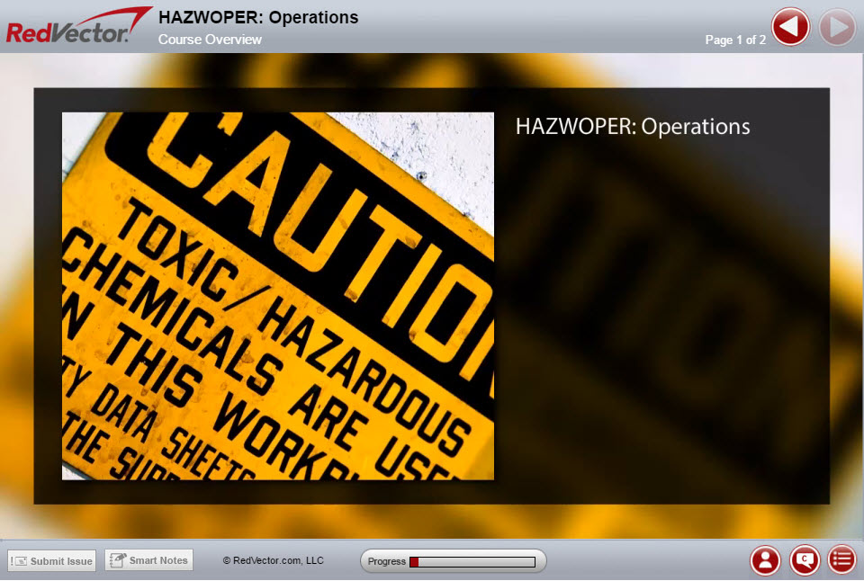 Online HAZWOPER Safety Training Courses