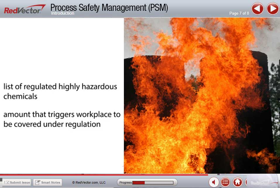 Process Safety Management Online Training