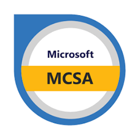 Microsoft Certified Solutions Associate (MCSA) Certification for Windows Server 2016