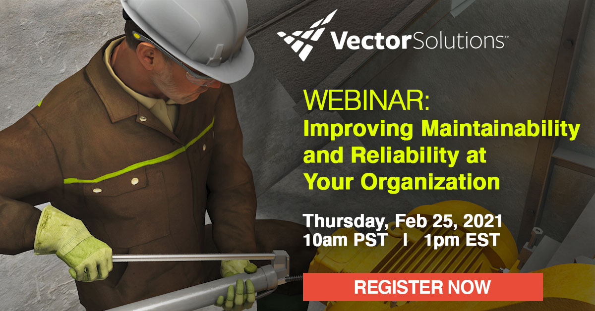 Banner for Webinar: Improving Maintainability and Reliability at Your Organization