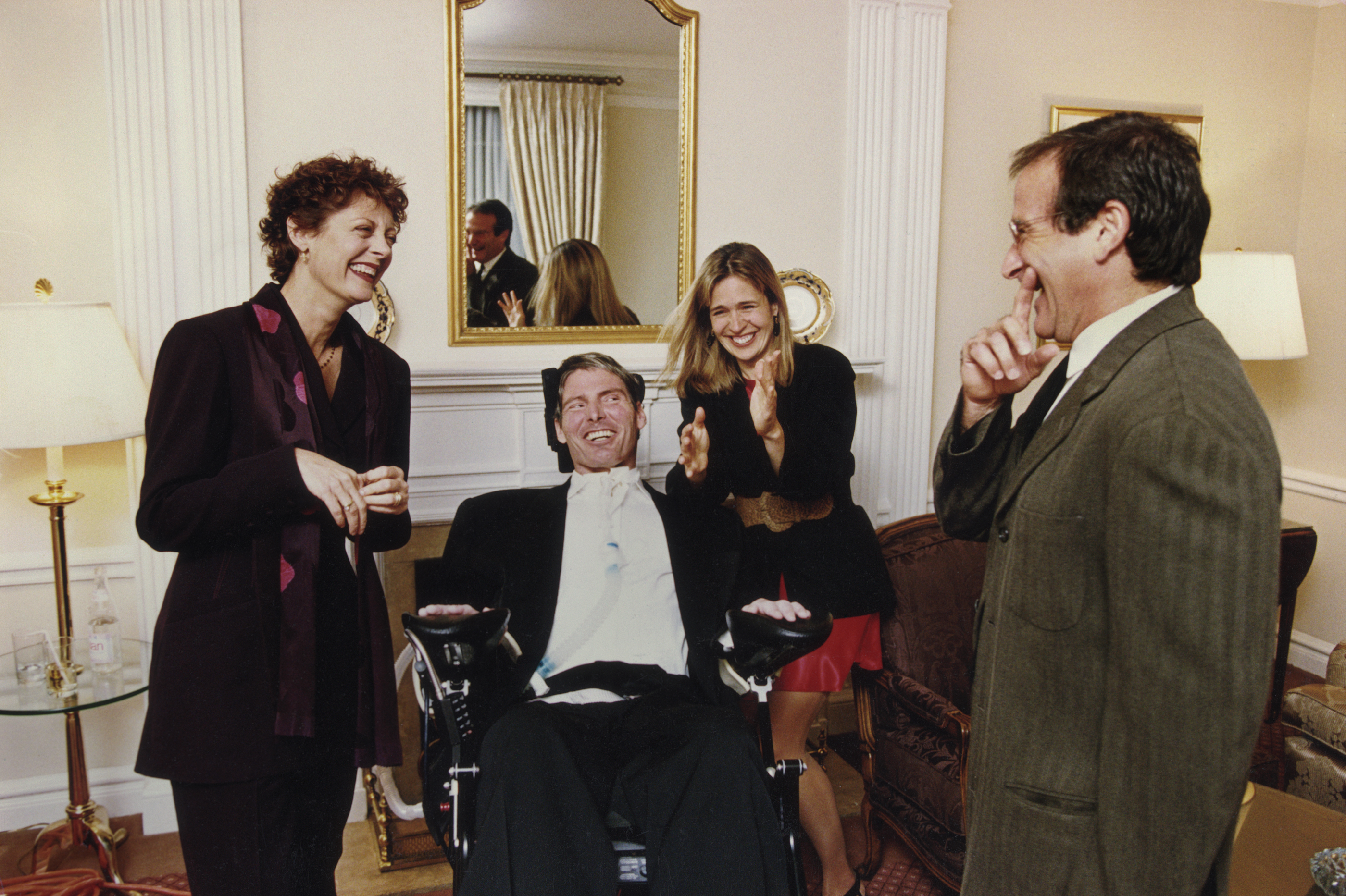 From the book, Robin Williams: A Singular Portrait, 1986-2002 (copyright Arthur Grace)