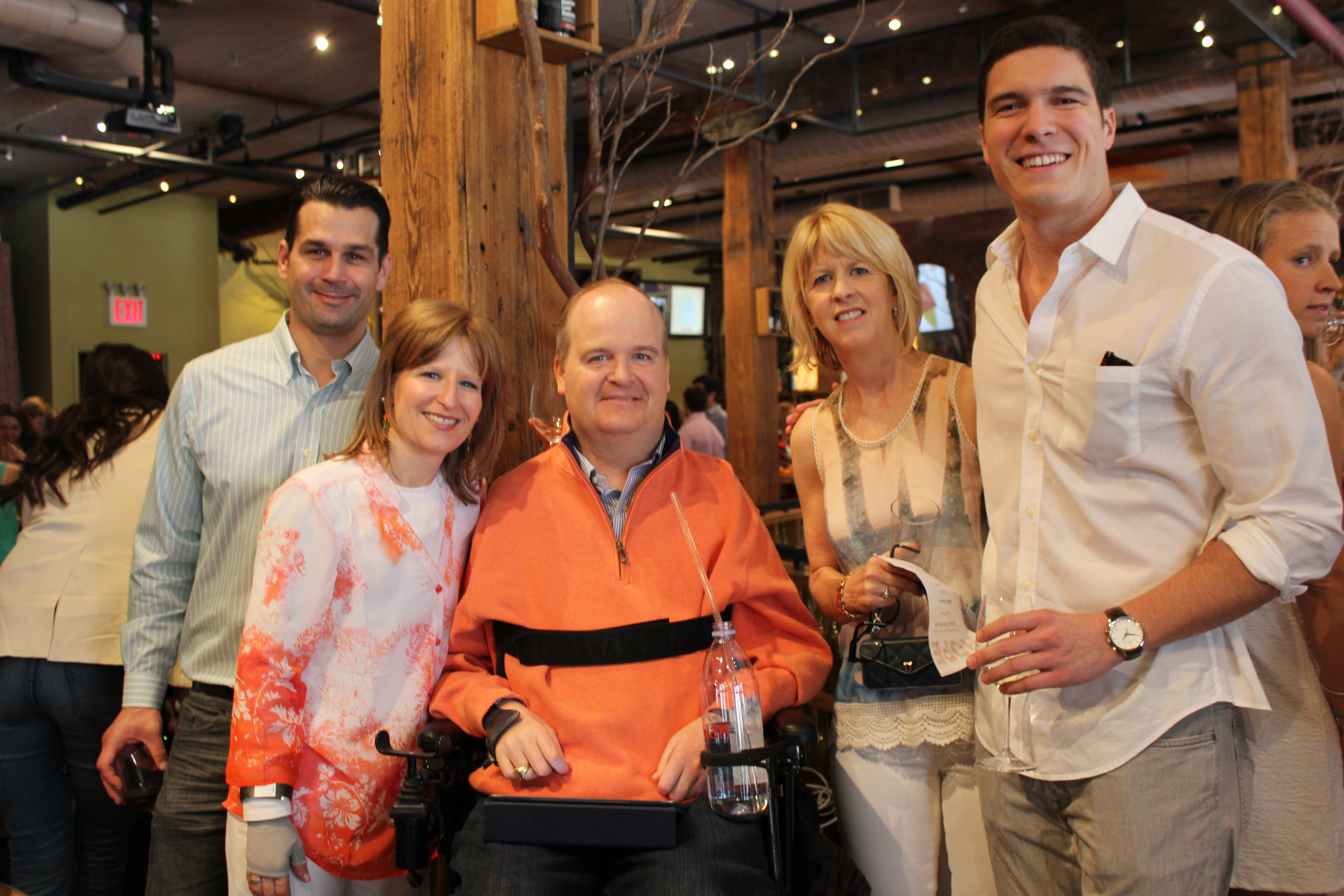 Henry Stifel and family with Will Reeve