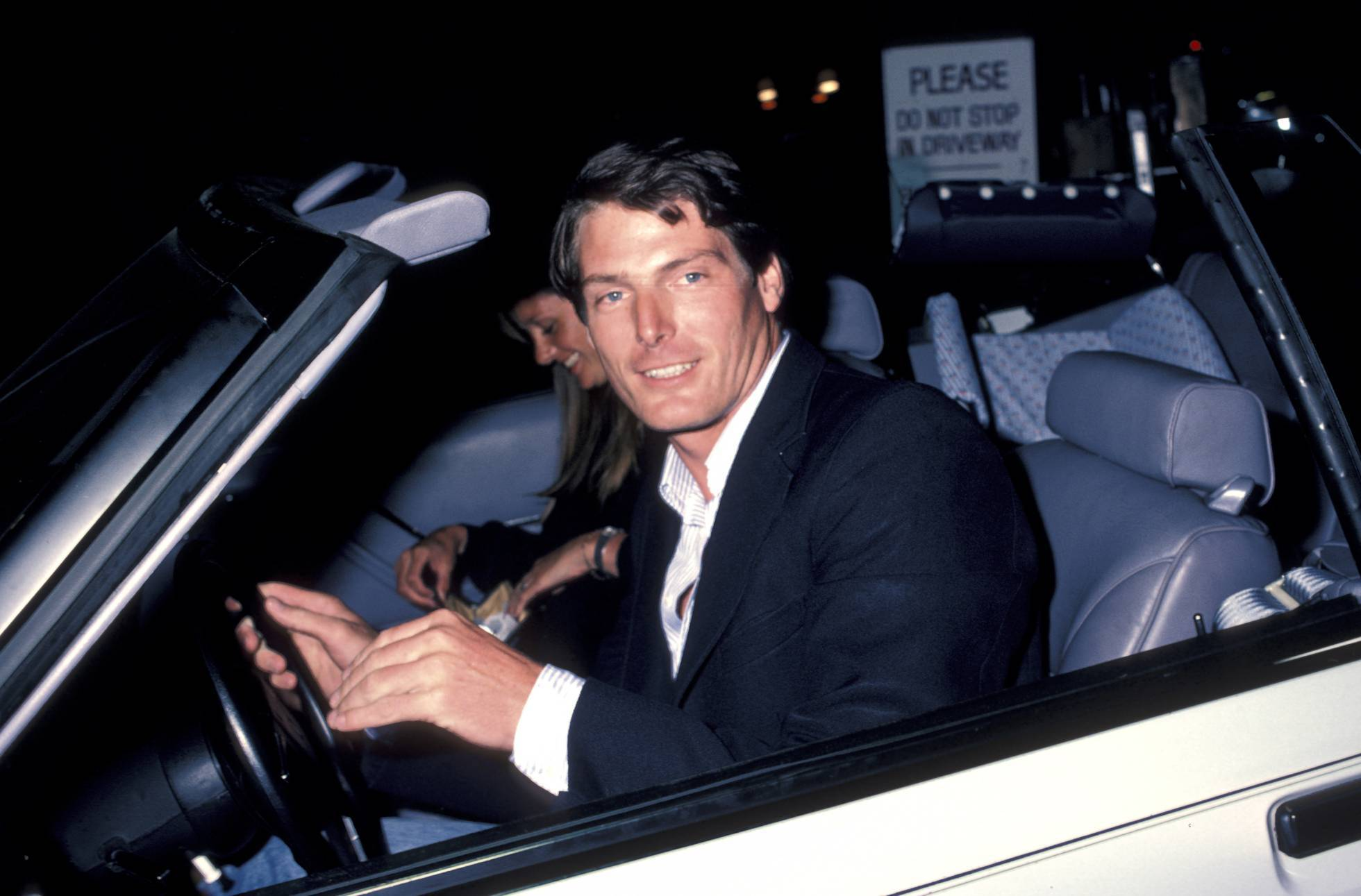 Christopher Reeve with his wife Gae Exton in 1984. Photo: Getty