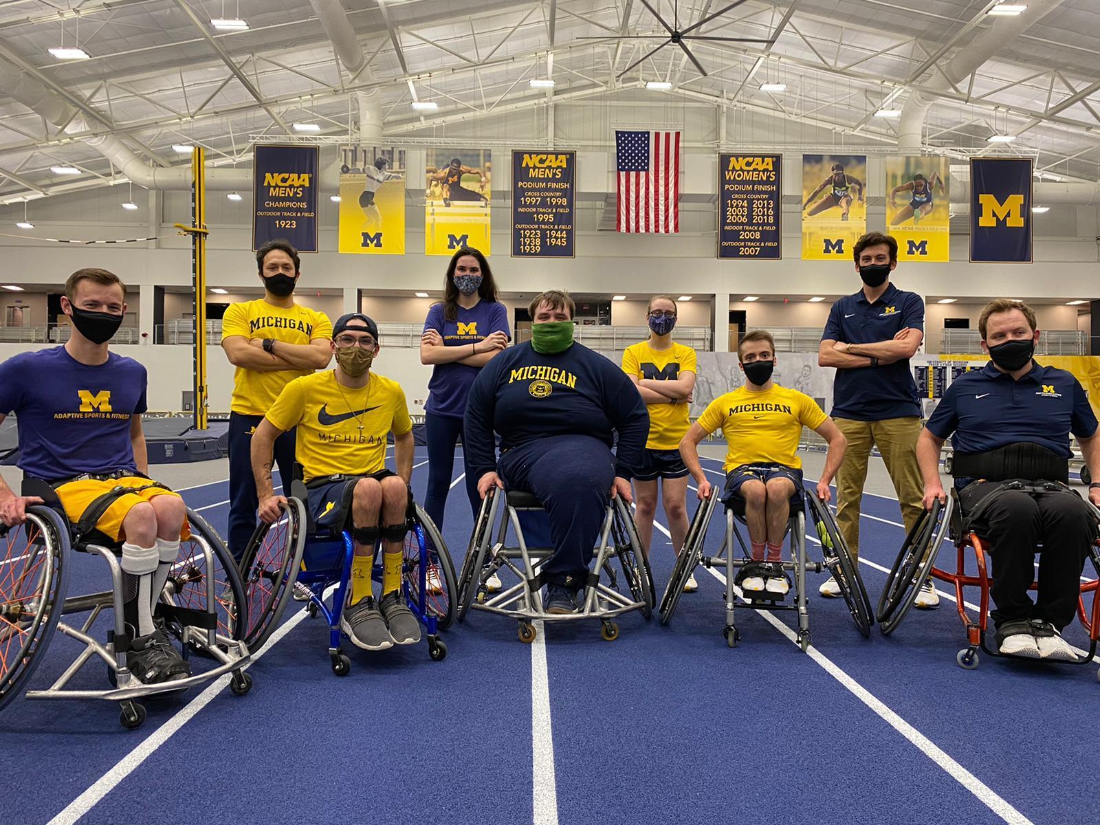 University of Michigan  Adaptive Sports and Fitness Team