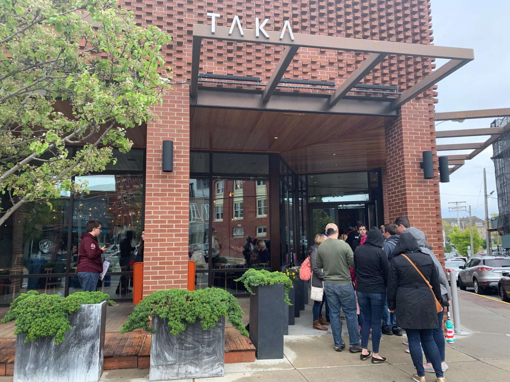 With a large ramp entrance and inviting, spacious interior, Taka is a model of accessibility with some of the best food in town!