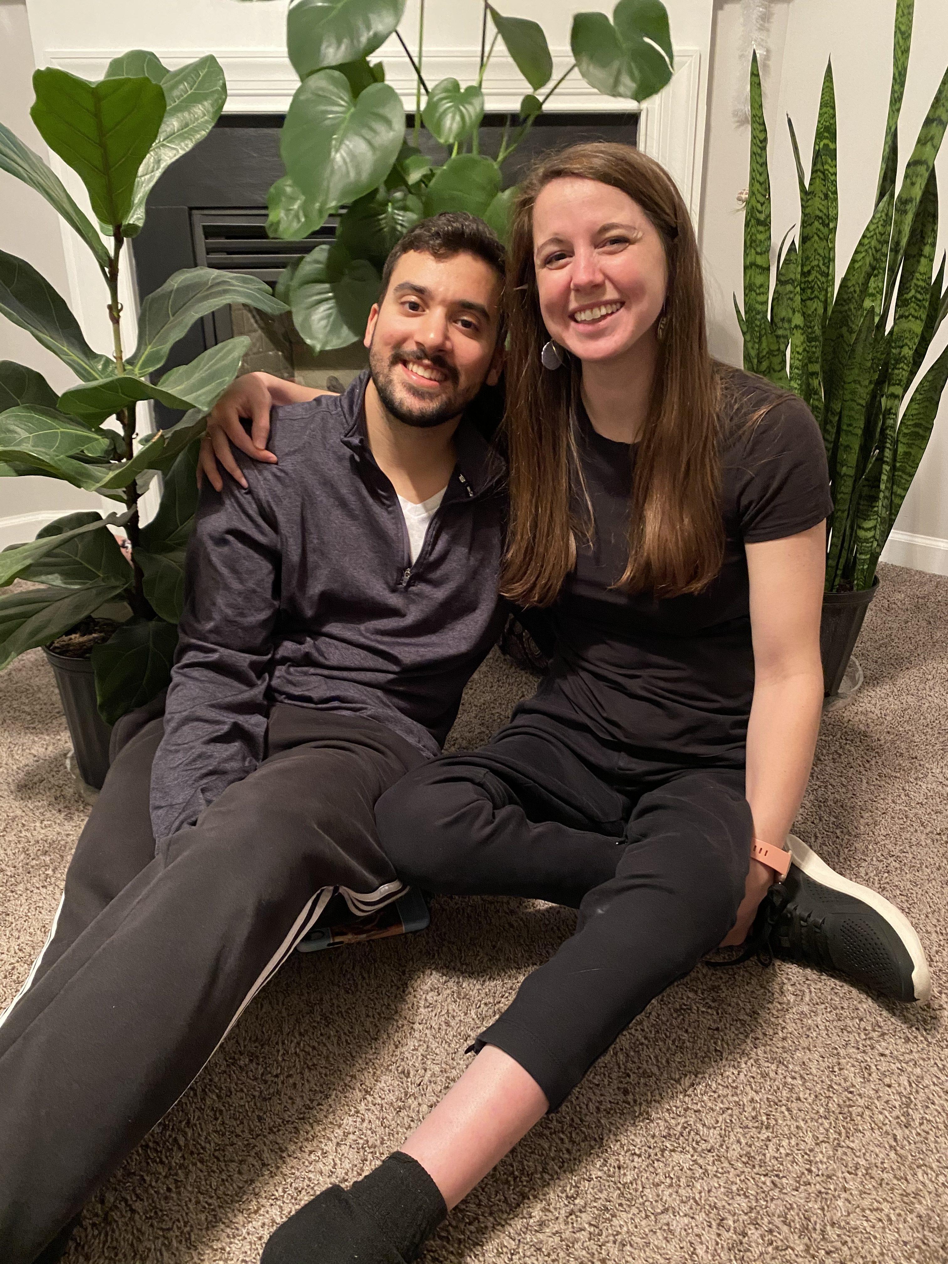 Kristin and fiance