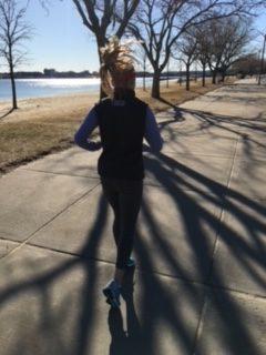 Shannon running