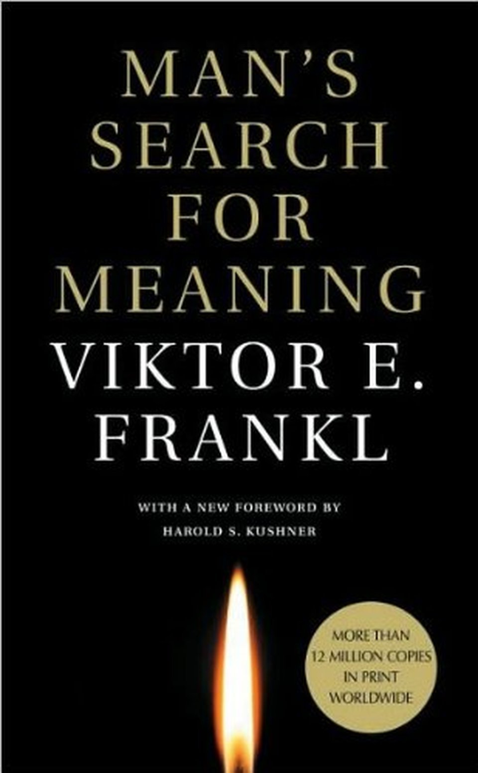 Book cover of Man's Search for Meaning