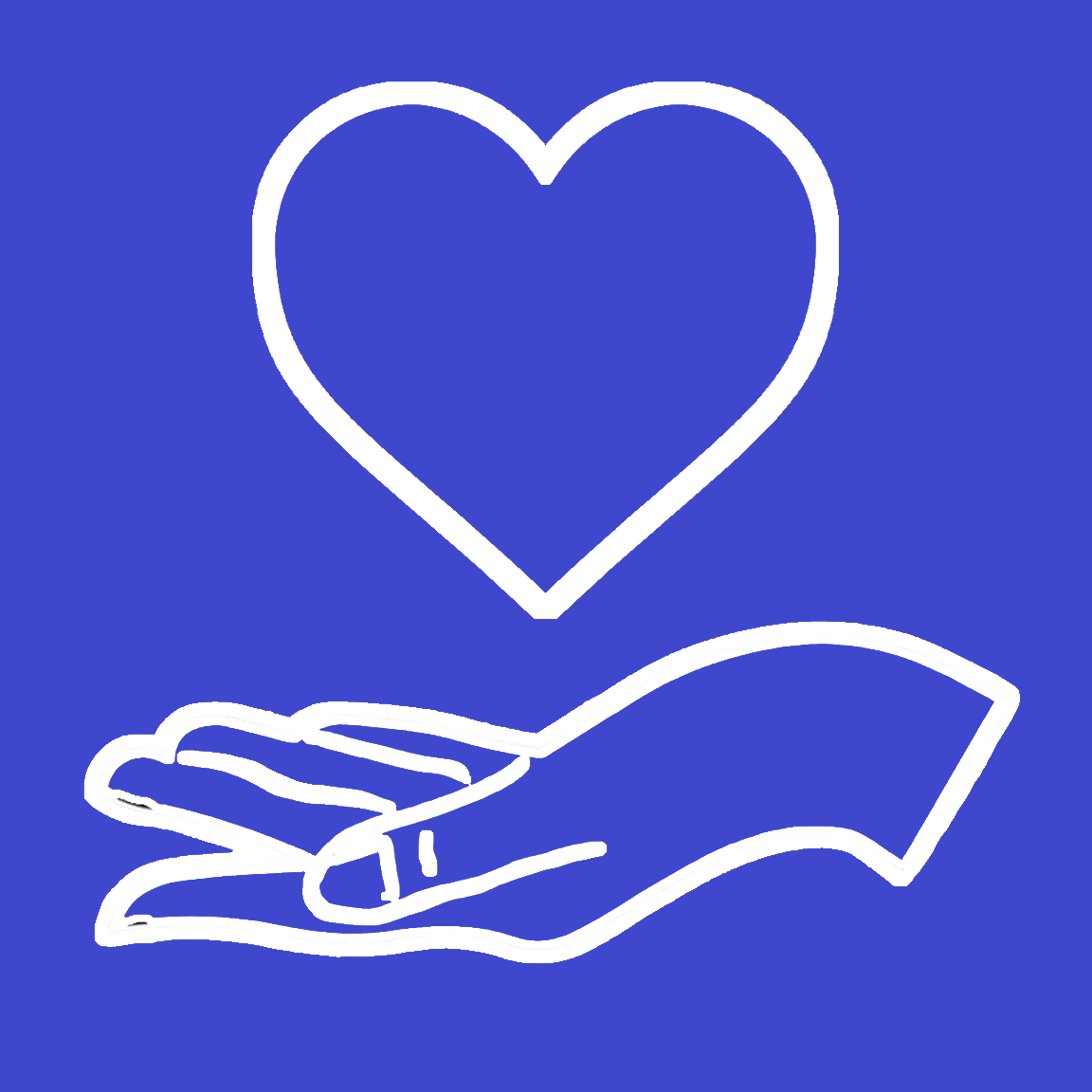 My MD Advisor Logo 7- Heart and Hand Royal Blue Background.png