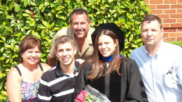 Darlene and family