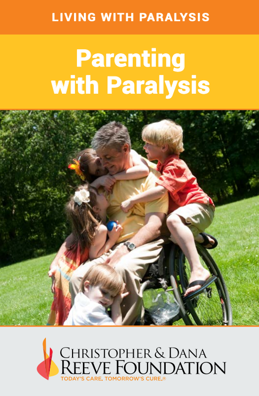 """Parenting with Paralysis"" Booklet Cover"